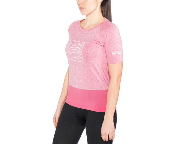 Compressport Training T-Shirt Femme, pink
